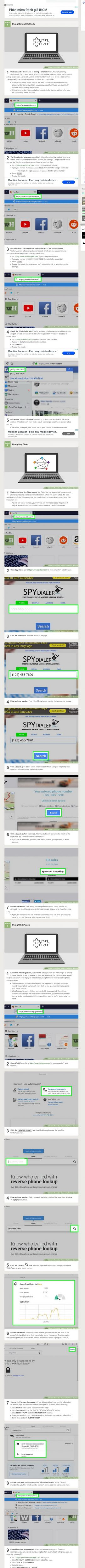 Cách truy tìm chủ sở hữu số điện thoại