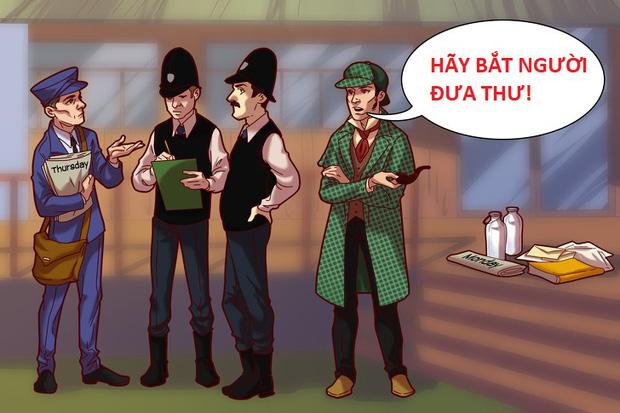 Thử tài phá án cùng Sherlock Holmes