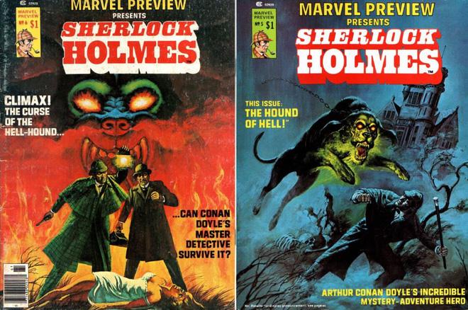 Thám tử lừng danh Sherlock Holmes từng là một phần của vũ trụ Marvel